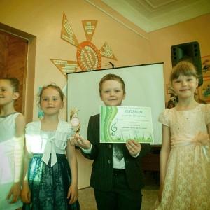 """Вокальная группа """"До-ми-солька"""" (номинация """"Песня"""", III место)"""
