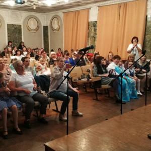Дошкольники приняли участие в VII районном песенно-поэтическом фестивале «В семейном кругу». Фото 1