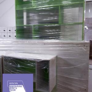 Новая мебель (читальный зал). Фото 1