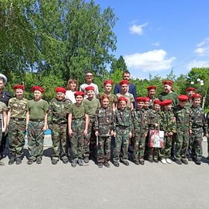 Взвод школы № 10 «Школа будущих командиров»