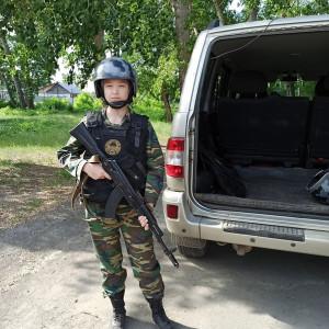 Анастасия Ульянова, юнармеец, участник Второго слета