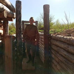 Сотрудники парка исторической реконструкции «Гардарика»