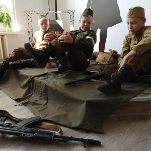 Мини спектакль «Я не видел войны или письма из прошлого». Фото 3