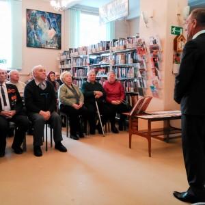 Выступление первого зам. главы Коркинского Муниципального района С.Н.Комарова