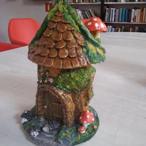 Сказочный домик 1 (бумажная глина)