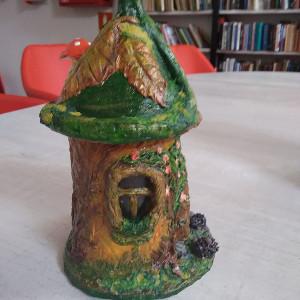 сказочный домик (бумажная глина)