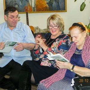 Обсуждение сборника «Обережный круг» членами литобъединения «Надежда»