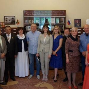 Торжественное открытие библиотеки имени Кердана. Фото 2